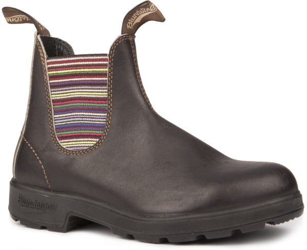 Blundstone 1409 Stout with Striped Elastic