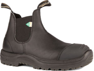 Blundstone 168 Black Toe Cap CSA Safety Boot