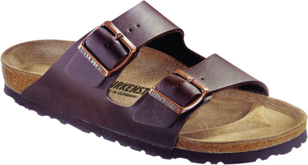 Birkenstock Arizona Brown Birko Flor Classic Footbed