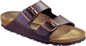 Birkenstock Arizona Brown Birko Flor Soft Footbed
