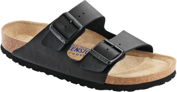Birkenstock Arizona Black Birko Flor Soft Footbed
