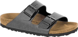 Birkenstock Arizona Pull up Anthracite Birko Flor Classic Footbed