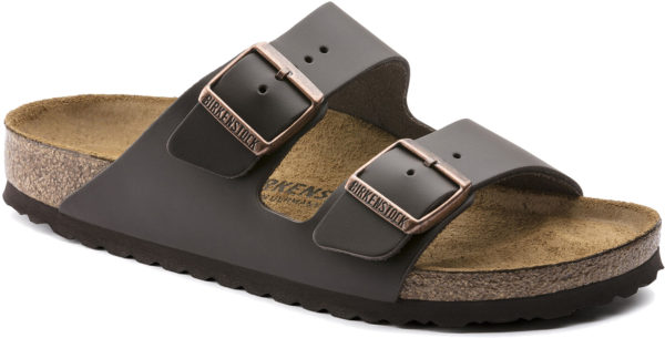 Birkenstock Arizona Brown Leather Classic Footbed
