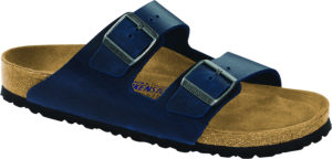 Birkenstock Arizona Blue Oiled Leather Soft Footbed