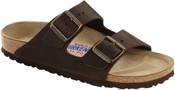Birkenstock Arizona Habana Oiled Leather Soft Footbed