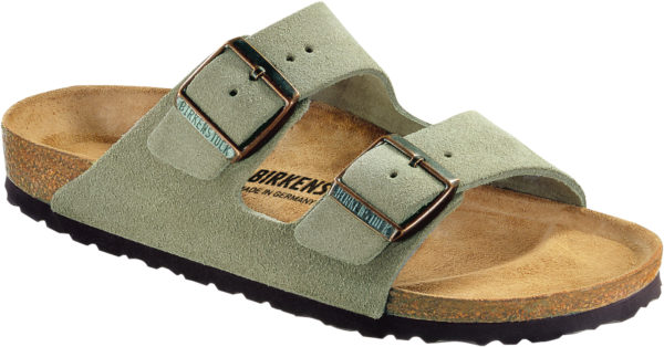 Birkenstock Arizona Taupe Suede Classic Footbed