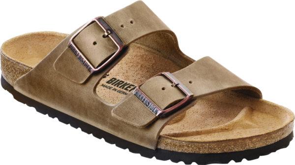 Birkenstock Arizona Tobacco Oiled Leather Classic Footbed