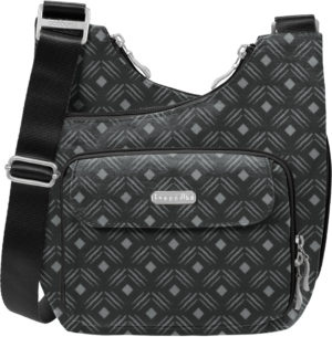 Baggallini Criss Cross Black Diamond