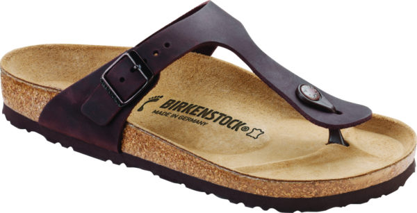 Birkenstock Gizeh Habana Oiled Leather Classic Footbed