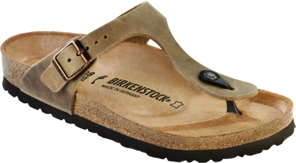 Birkenstock Gizeh Tobacco Oiled Leather Classic Footbed