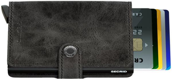 Secrid Miniwallet Black Vintage