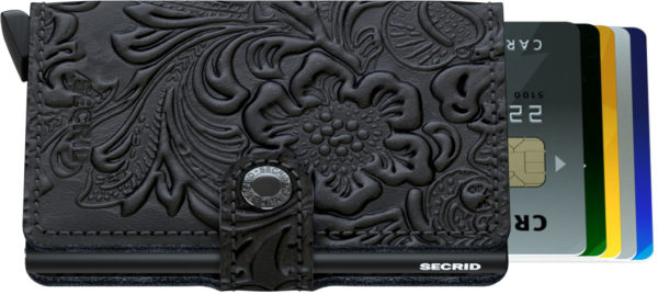 Secrid Miniwallet Black Ornamental