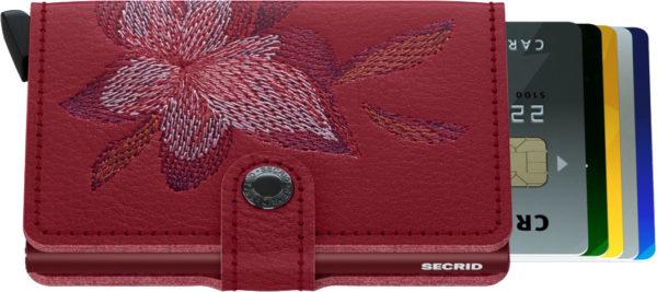 Secrid MIniwallet Rosso Magnolia
