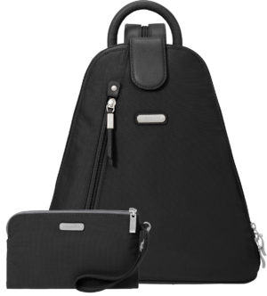 Baggallini Metro Backpack Black