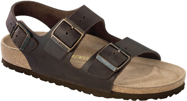 Birkenstock Milano Habana Oiled Leather Classic Footbed