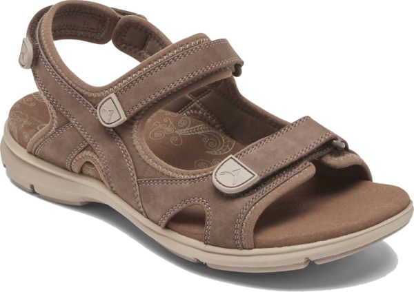 Aravon RevSandal Brown