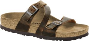 Birkenstock Salina Tobacco Oiled Leather Classic Footbed