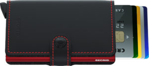 Secrid Miniwallet Black Red Matte