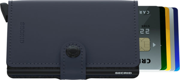 Secrid Miniwallet Night Blue Matte
