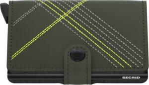 Secrid Miniwallet Lime LIne