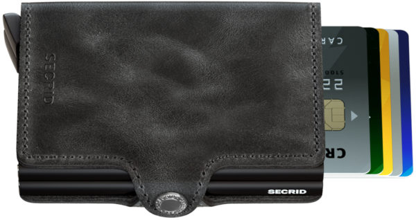Secrid Twinwallet Black Vintage