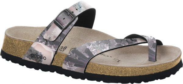 Birkenstock Papillio Tabora Crystal Lilac Classic Footbed