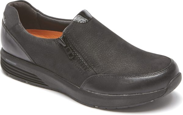 ROckport TruseStride Side Zip Black