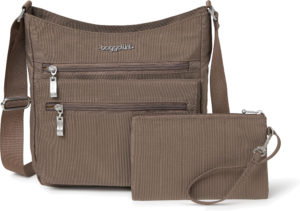 Baggallini Top Zip Flap Portobello