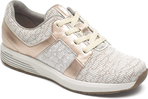 Rockport TrueStride Knit Rose Gold