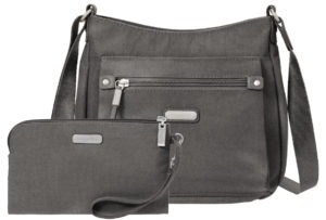 Baggallini Uptown Silver