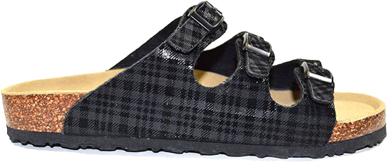Viking Banff Black Plaid