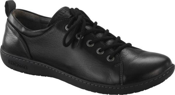 Birkenstock Islay Laceup Black Leather