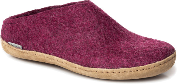 Glerup Slipper Cranberry