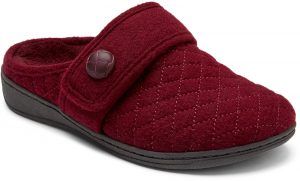 Vionic Slipper Carlin Wine