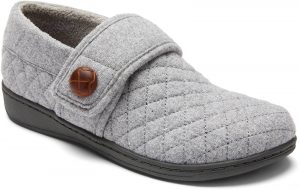 Vionic Slipper Jackie Light Grey