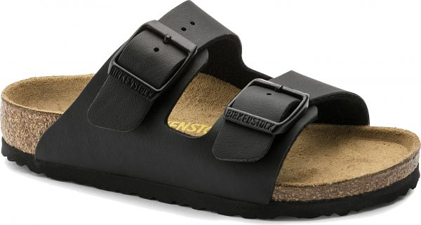 Birkenstock Arizona Kids Black Birko Flor 555123