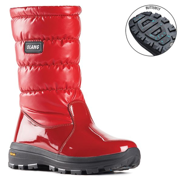 Olang Ontario Red Vibram Ice Grip
