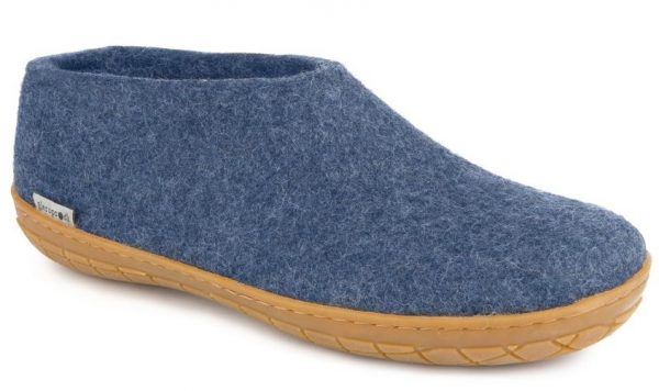 Glerups Shoe Rubber Sole Denim