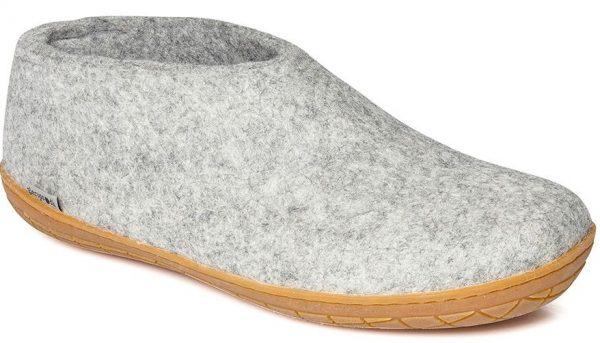 Glerups Shoe Grey Rubber Sole