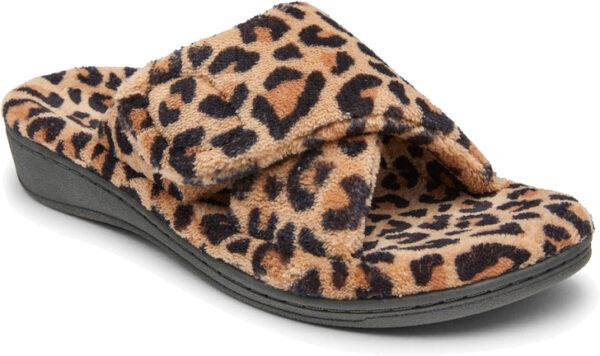 Vionic Women's Slipper Relax Leopard Print